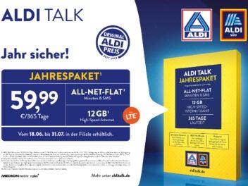 Aldi Talk Jahrespaket 2020