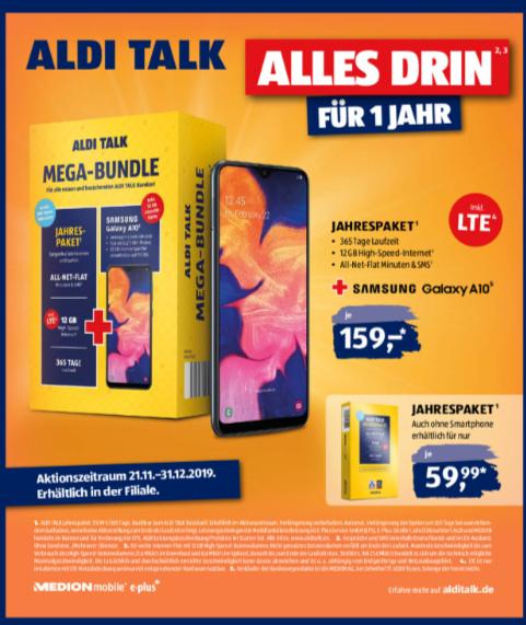 Aldi Talk Jahrespaket