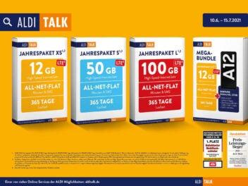 Aldi Talk Jahrespakete 2021