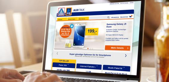 Aldi Talk Online Shop