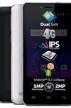 Allview A5 Quad Plus Datenblatt - Foto des Allview A5 Quad Plus