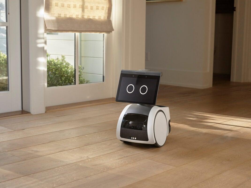 So sieht der Amazon Astro Roboter aus