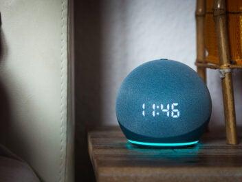 Amazon Echo Dot 4 LED 2020 mit Alexa