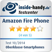 Amazon Fire Phone Testsiegel