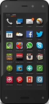 Amazon Fire Phone Datenblatt - Foto des Amazon Fire Phone