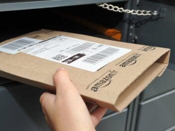 Amazon Päckchen im eigenen Locker