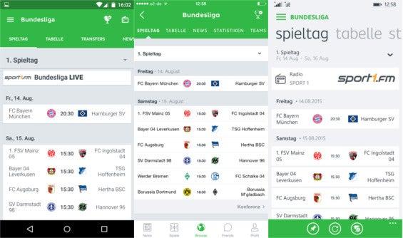 Android, iOS und Windows Phone im Vergleich