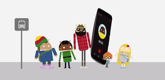 Android Nexus 6 Werbung