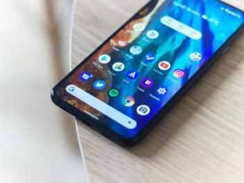 Ein Android Smartphone