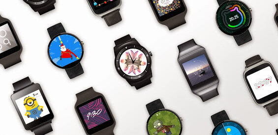 Android Wear Update Zifferblätter
