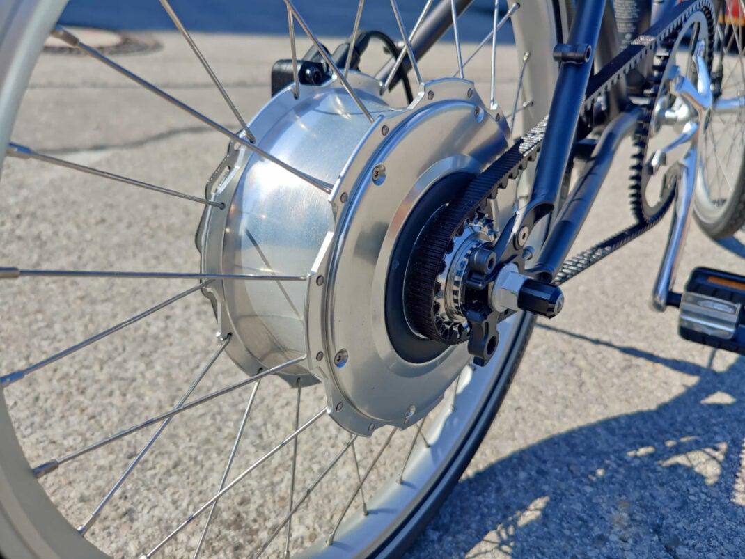 Antrieb des Vello Bike+