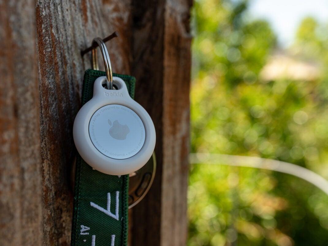 Apple AirTag mit Schlüssel