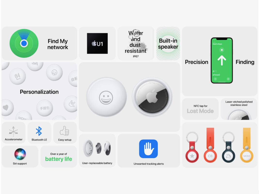 Apple AirTag Features