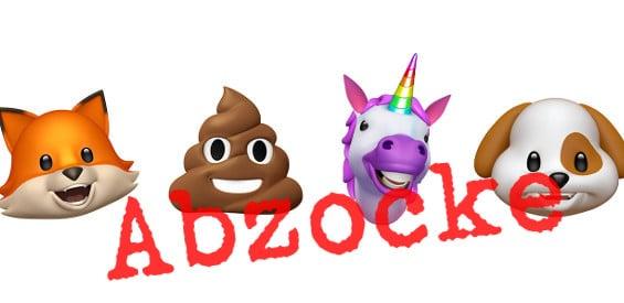 Apple Animoji Abzocke