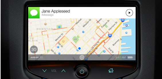 Apple CarPlay iOS im Auto