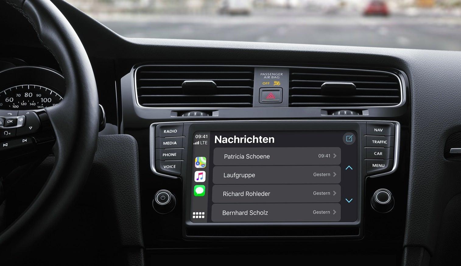 Apple Carplay: So wird das iPhone ein Teil des Autos
