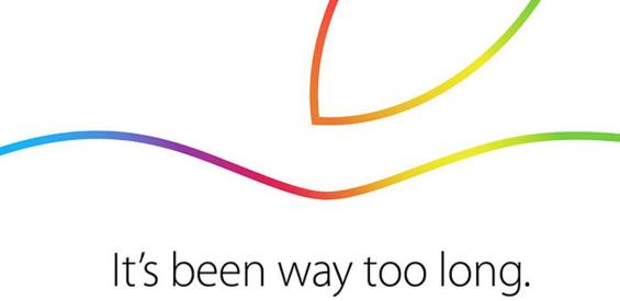 Apple hat Einladungen zu einer Keynote am 16. Oktober verschickt.