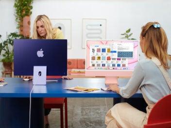 Der neue iMac wird in 7 Farben angeboten