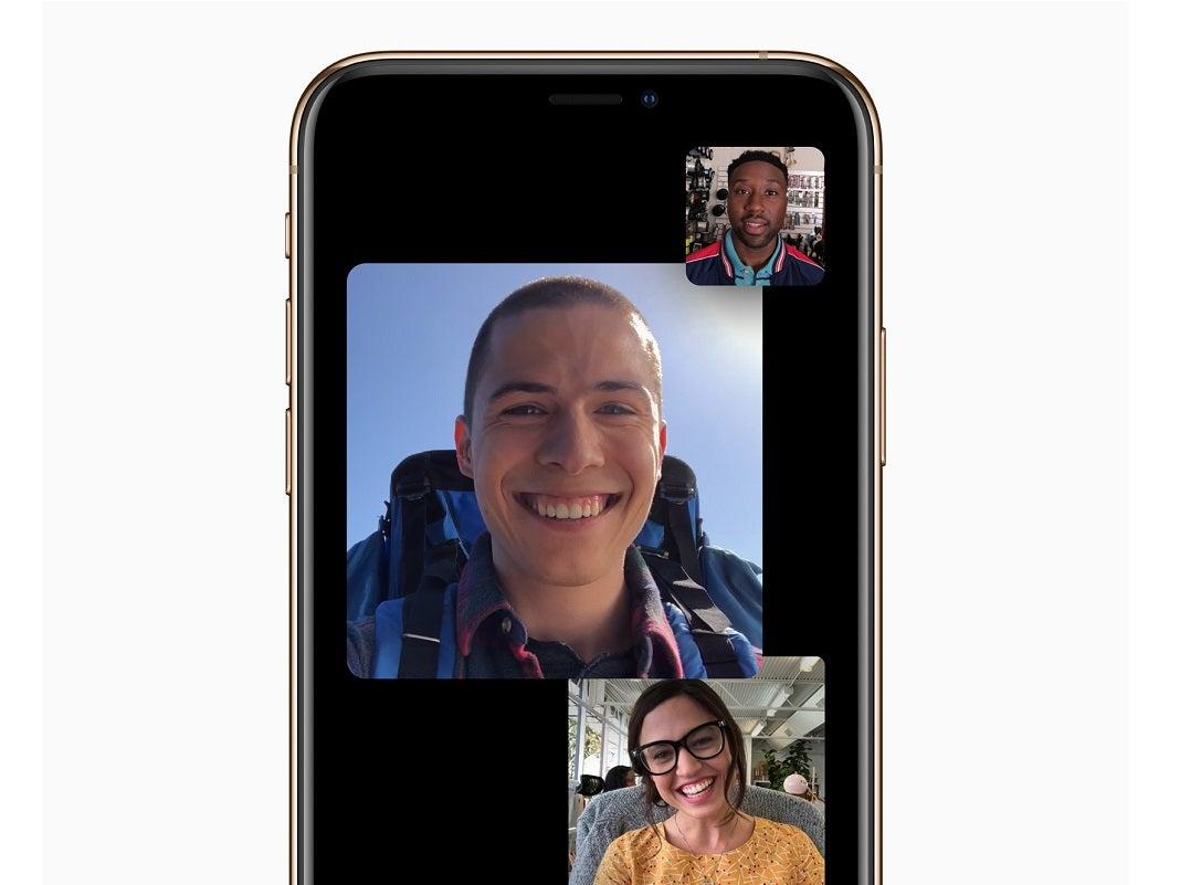 Apple iOS 12.1 mit Facetime-App