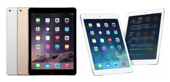 Apple iPad Air 2 vs. iPad Air