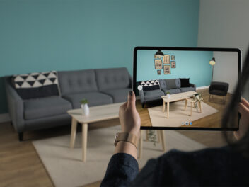 Apple iPad Pro 2020 mit AR-App