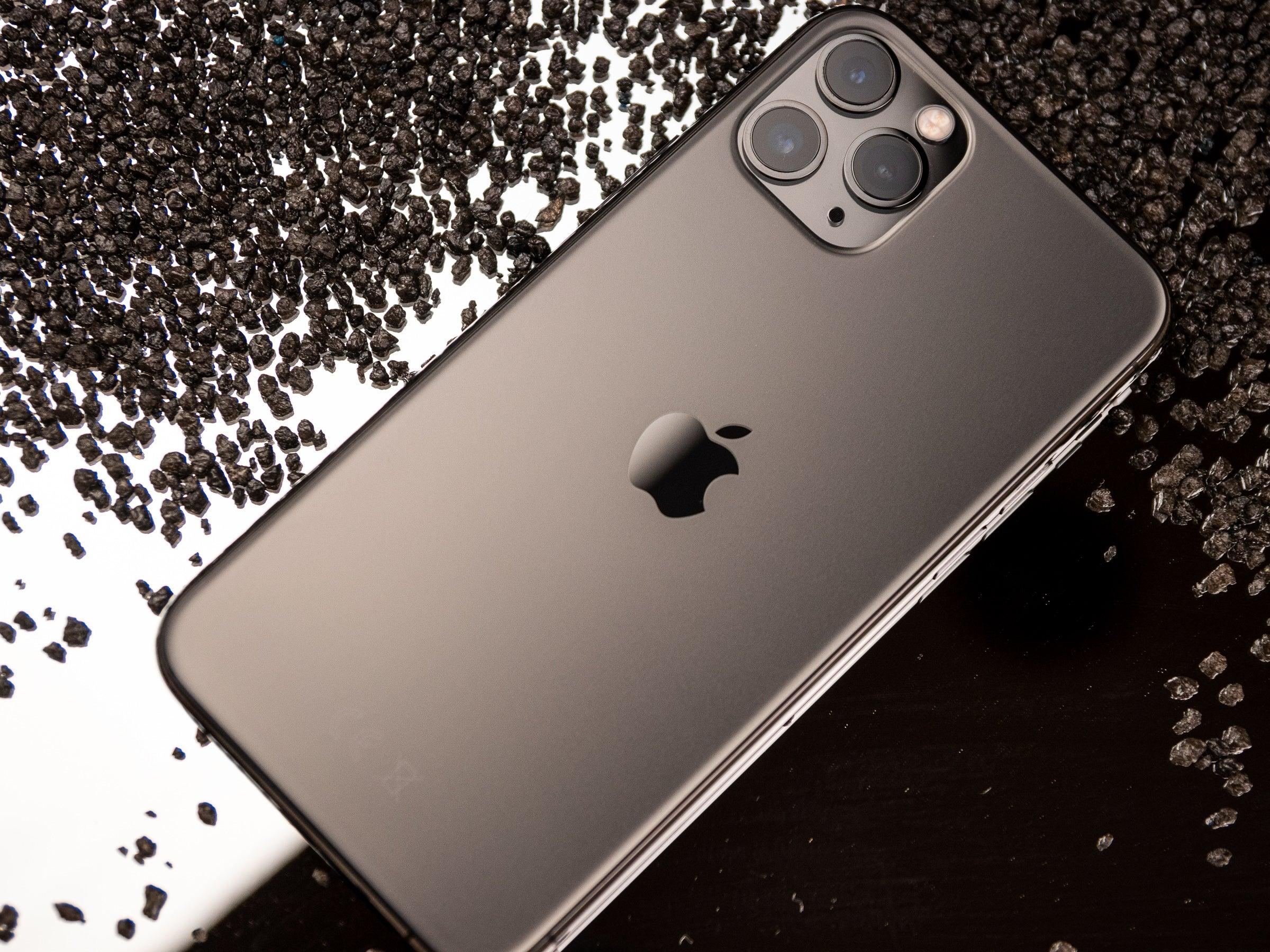 Mattes Glas des Apple iPhone 11 Pro