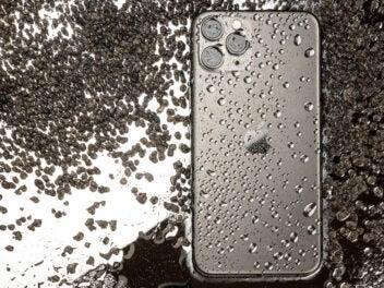 Rückseite des Apple iPhone 11 Pro