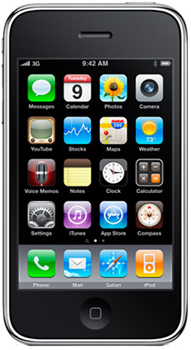 Apple iPhone 3GS Datenblatt - Foto des Apple iPhone 3GS