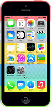 Apple iPhone 5c Datenblatt - Foto des Apple iPhone 5c