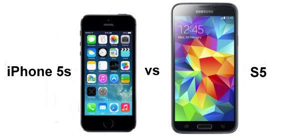 Apple iPhone 5s vs Samsung Galaxy S5