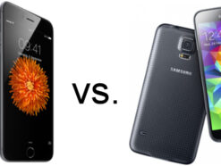 Apple iPhone 6 und iPhone 6 Plus vs. Samsung Galaxy S5