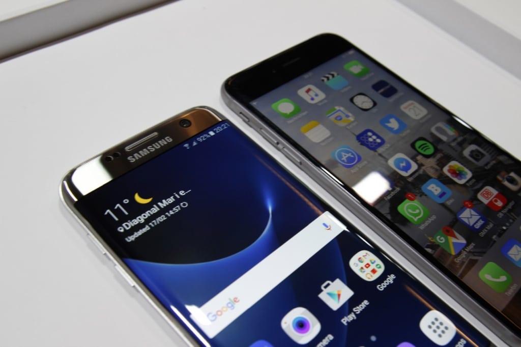 vergleich samsung s6 mit iphone 6