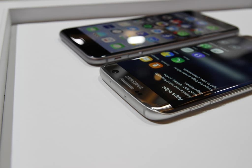 handy vergleich iphone 7 samsung galaxy s7