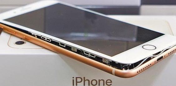 Apple iPhone 8 Plus kaputt