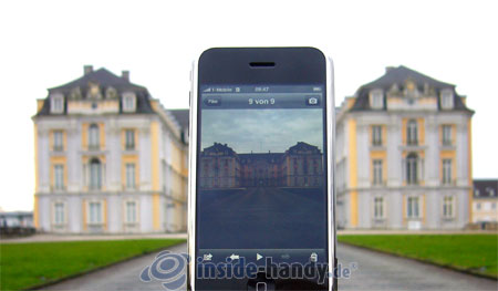 Apple iPhone: Foto Schloss
