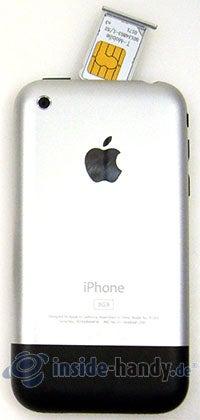 Apple iPhone: Rückansicht