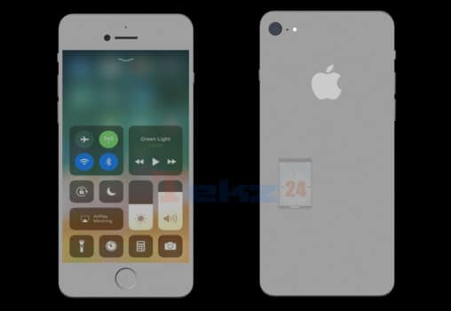 Apple iPhone SE 2 Glasrückseite Gerücht
