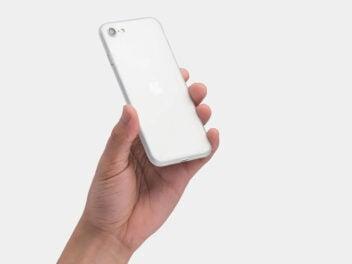 Apple iPhoen SE 2 oder iPhone 9 - Gerüchtebild mit weißem Handy