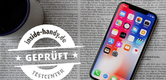 iPhone X im Test