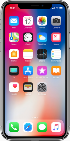 Apple iPhone X Datenblatt - Foto des Apple iPhone X