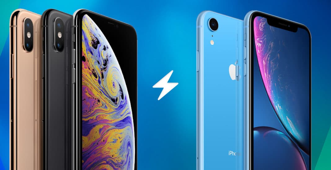 Apple iPhone XS vs. iPhones XR