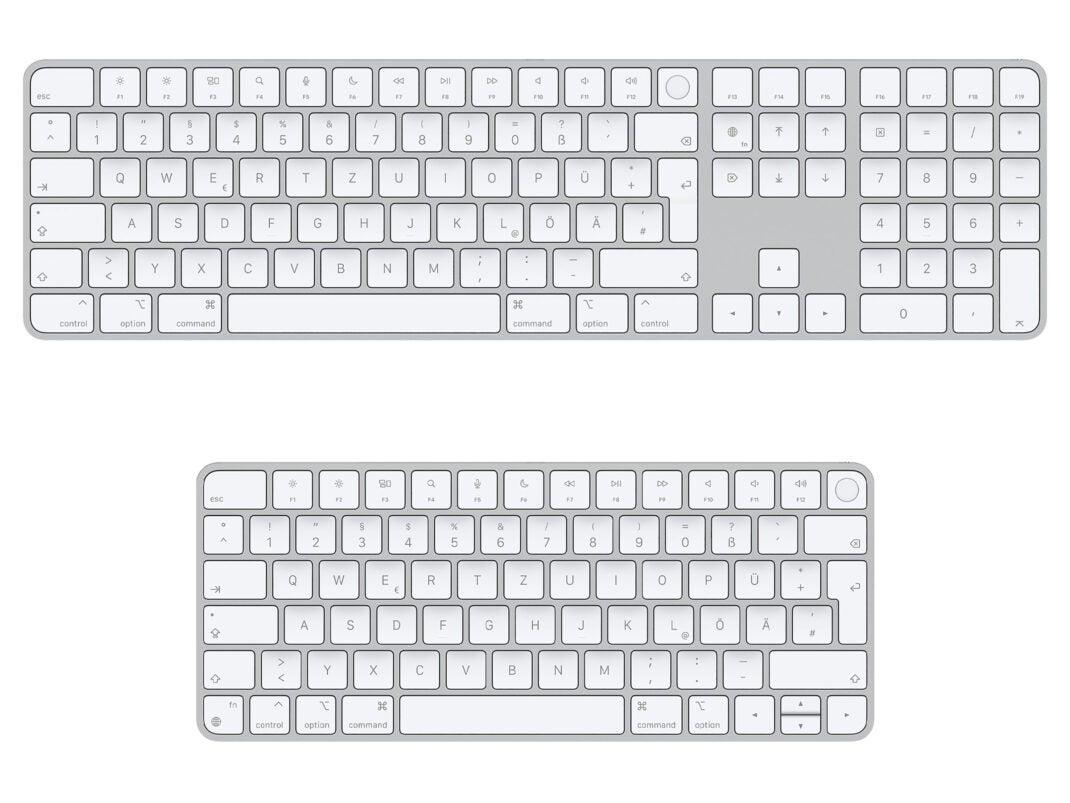 Das Magic Keyboard mit Touch ID für Mac mit Apple Chip