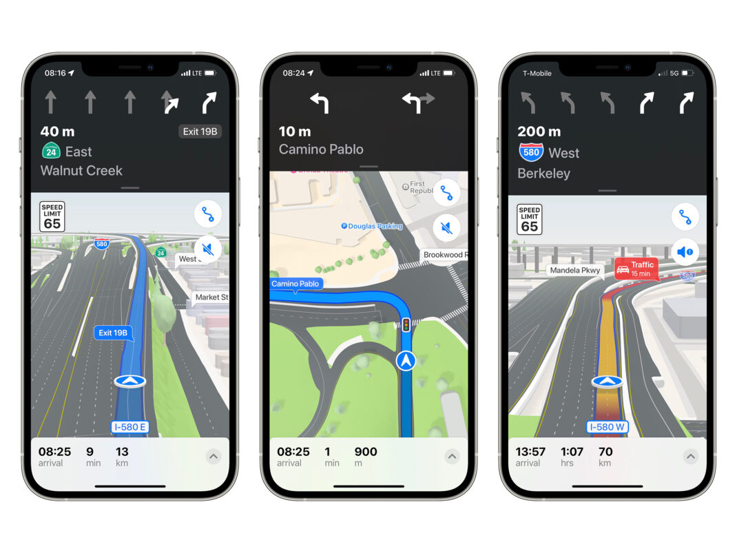 Einige Beispiele der neuen Navigation in iOS 15