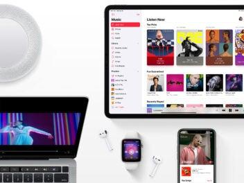 Apple Music auf verschiedenen Geräten