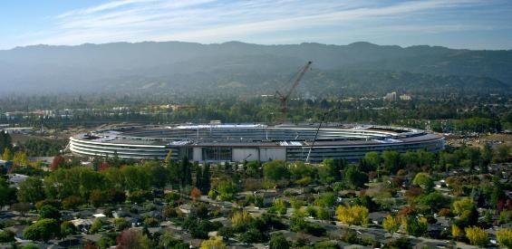 Apple Park - die neue Apple-Zentrale