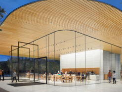 Apple Park Besucherzentrum