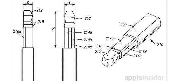 Apple Patent dünnere Klinkenstecker