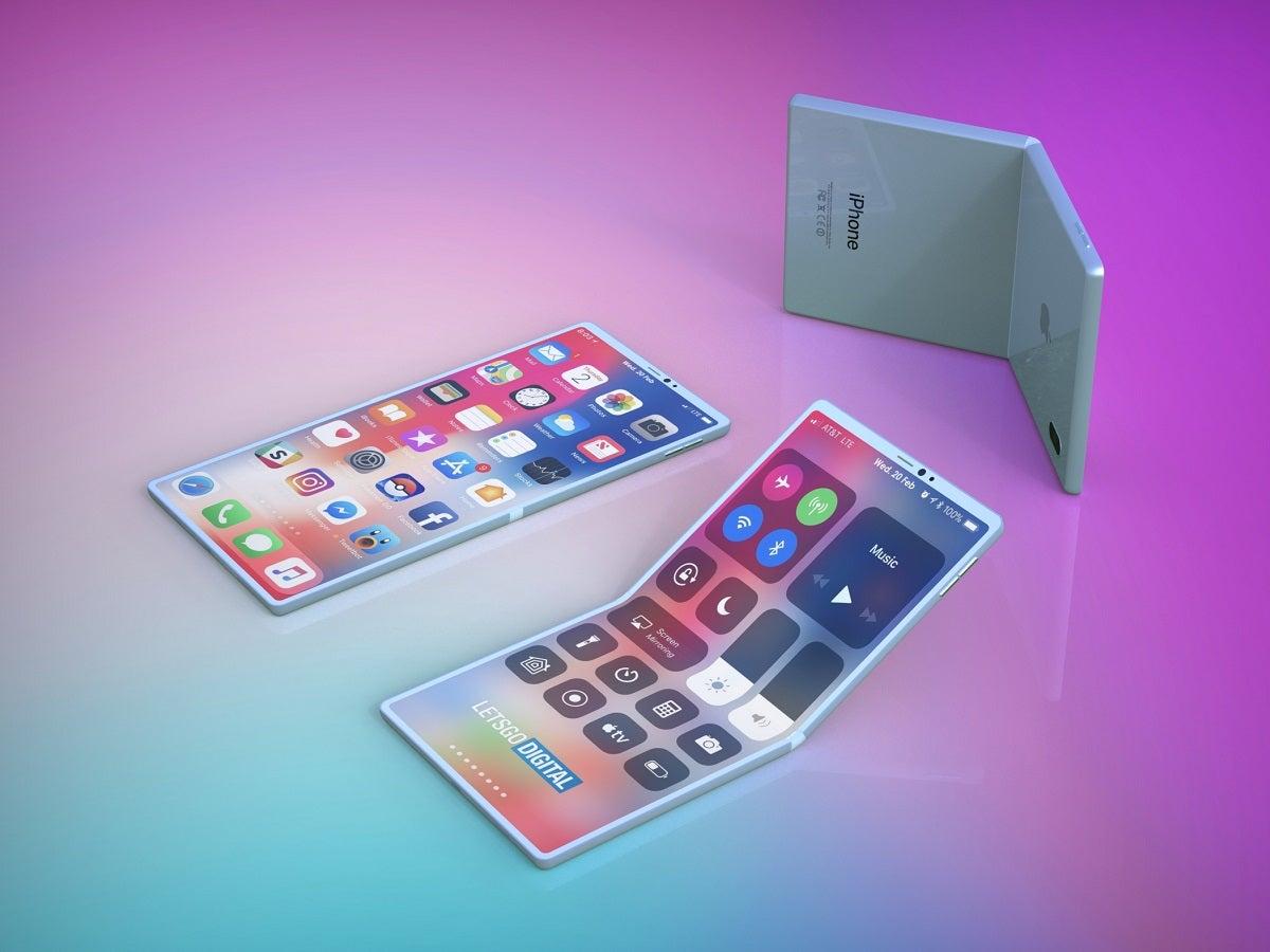 Apple-Patent: Faltbares Smartphone