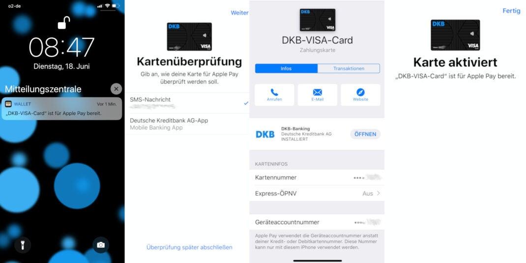 Die DKB unterstützt nun Apple Pay
