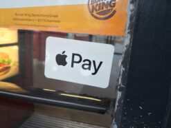 Apple Pay bei Burger King